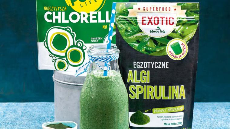 Świetne w kuchni: chlorella i spirulina