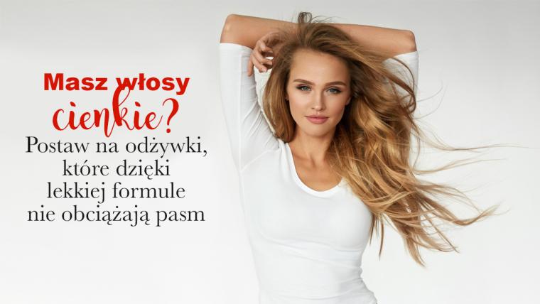 Jak pielęgnować cienkie włosy?