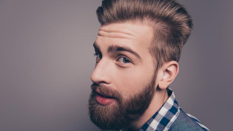 Zapuszczanie i stylizacja brody. I modne męskie fryzury.