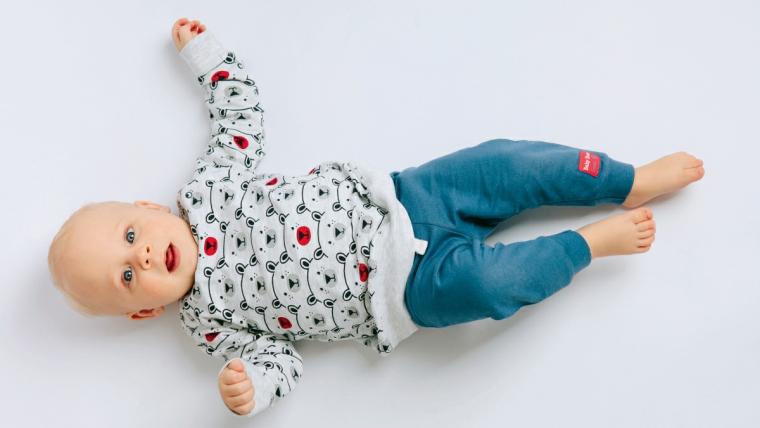 Mała rewia mody - nowa kolekcja ubranek dla niemowląt Baby Bear Leon