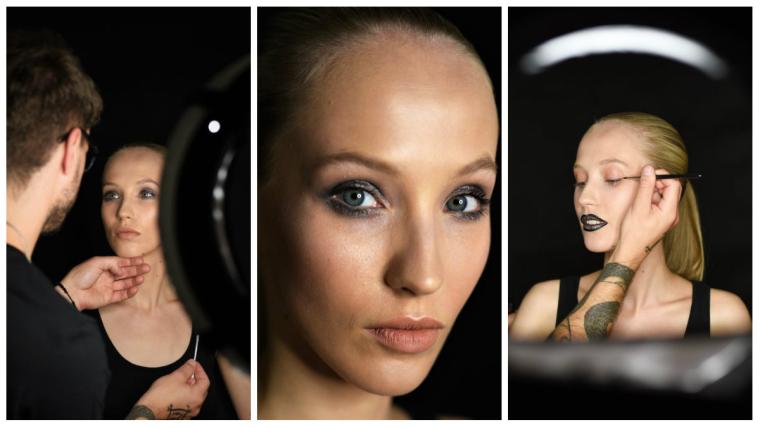 Nowoczesny i kreatywny makijaż z SINSKIN