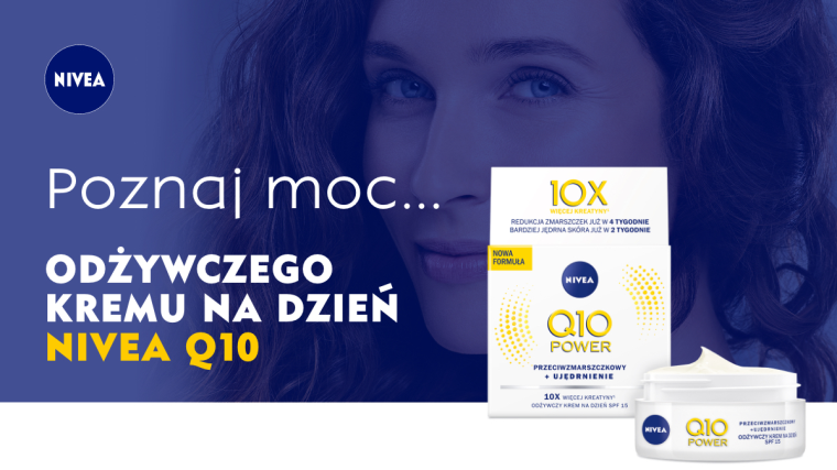 Poznaj moc Nivea Q10 Power