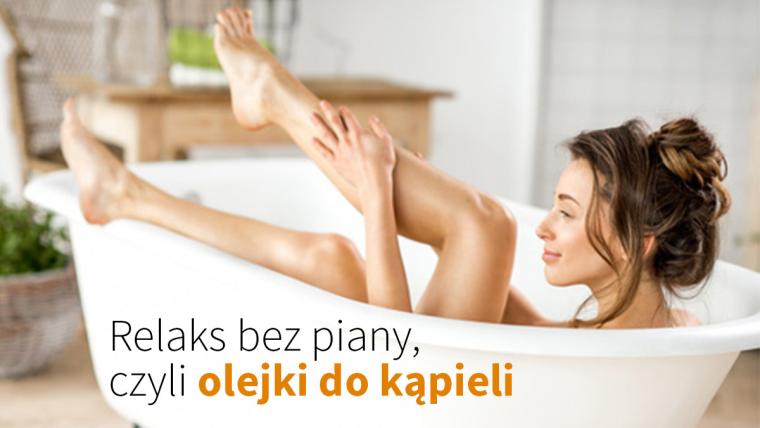 Relaksacyjne olejki do kąpieli