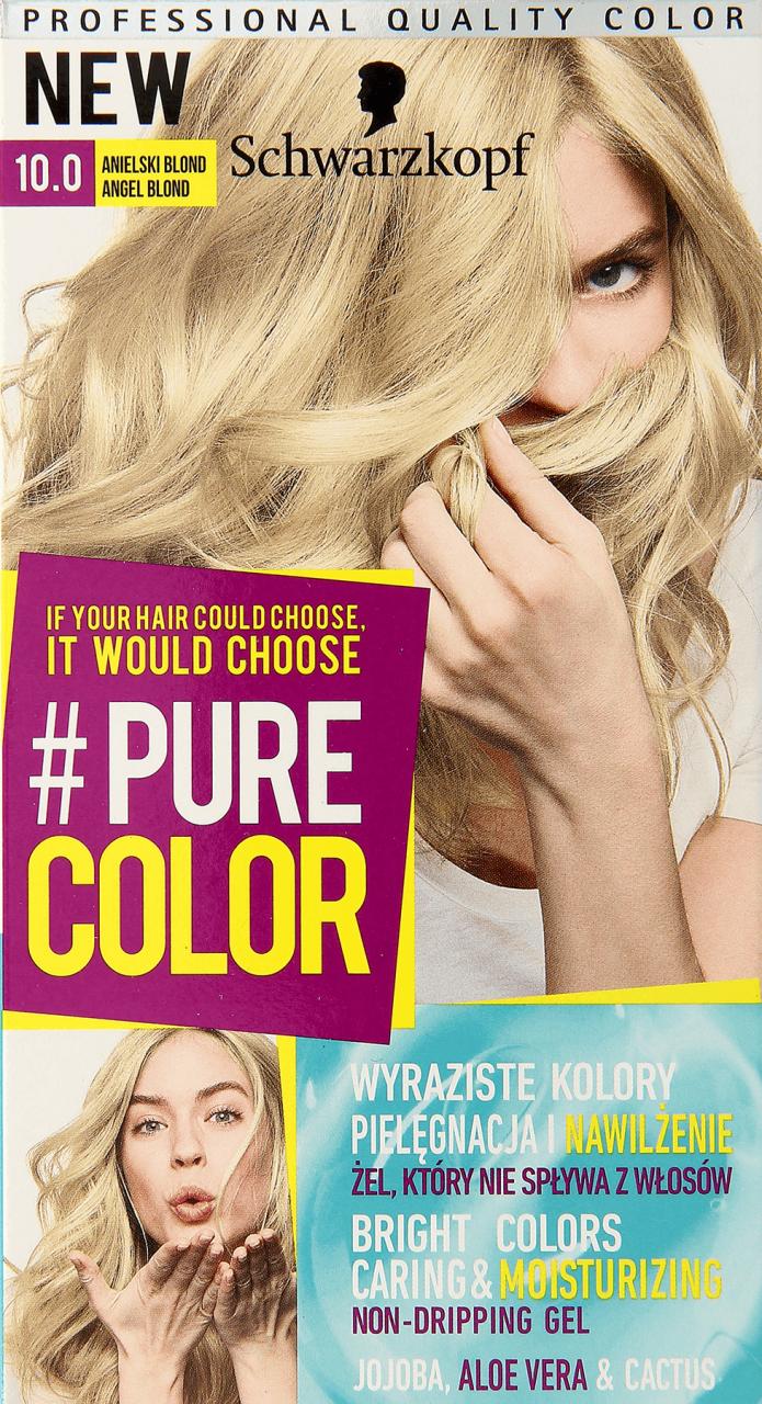 Schwarzkopf Pure Color Farba Do Wlosow Nr 10 0 Anielski Blond 1