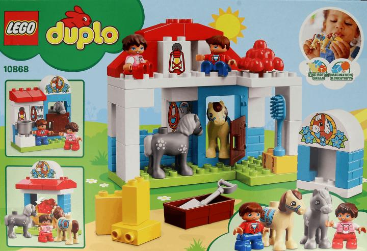 Lego Duplo Klocki Dla Dzieci Od 2 Do 5 Roku życia Stajnia Z