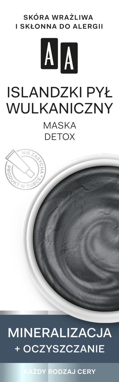 Znalezione obrazy dla zapytania maseczka aa detox