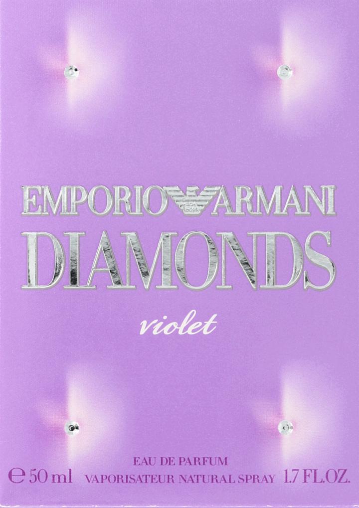 giorgio armani emporio armani - diamonds violet