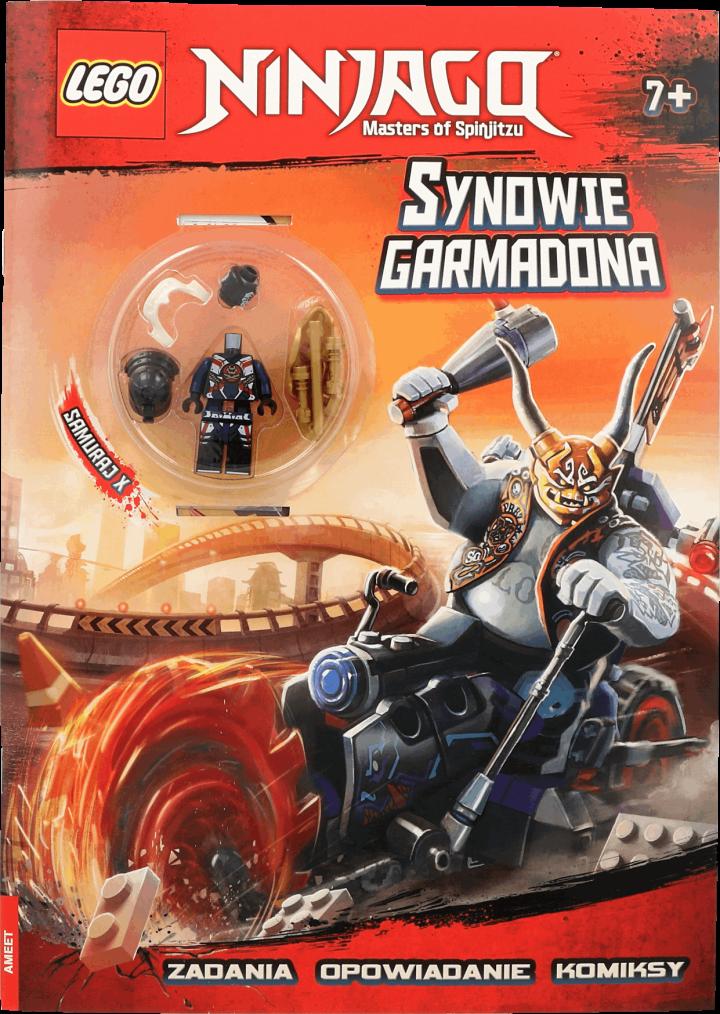 Lego Ninjago Zadania Opowiadanie Komiksy Synowie Garmadona 7 1