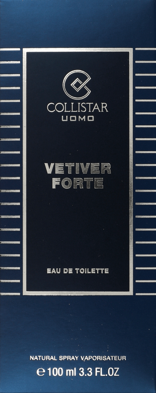 collistar vetiver forte