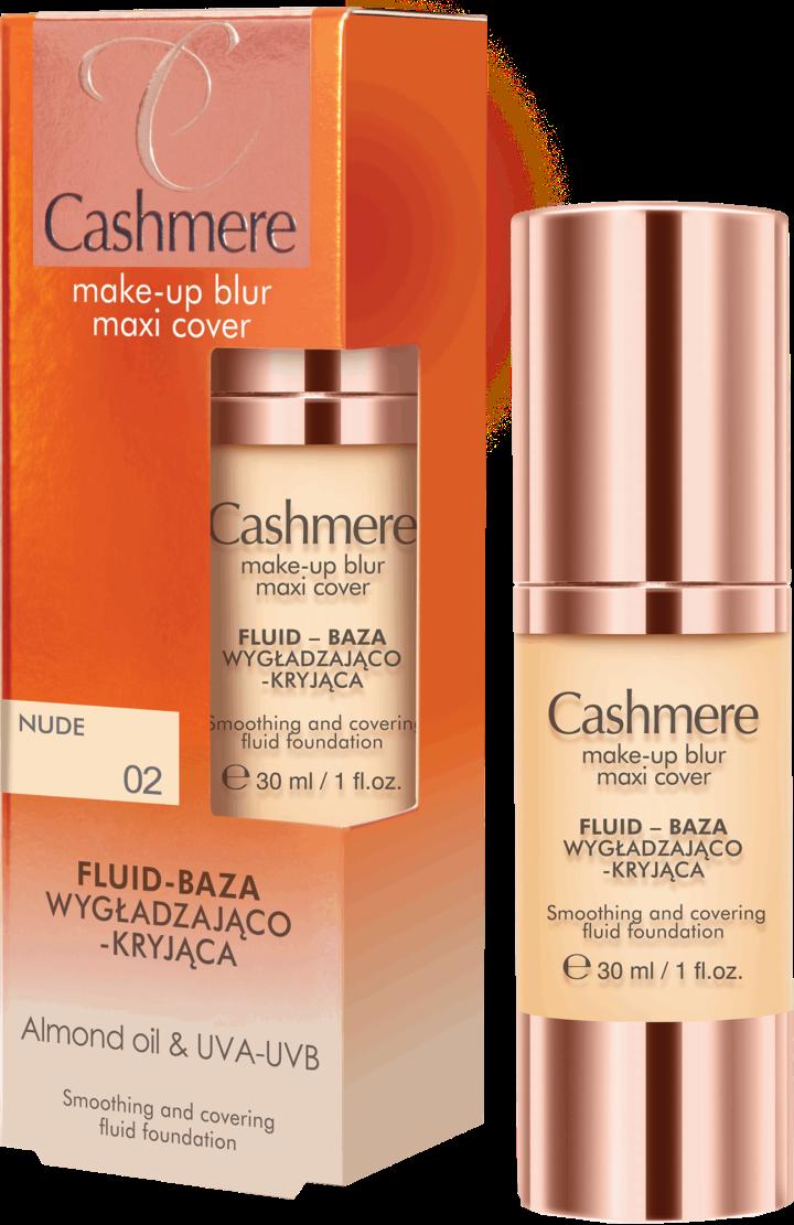 Cashmere Fluid - baza wygładzająco-kryjąca do twarzy nr 01