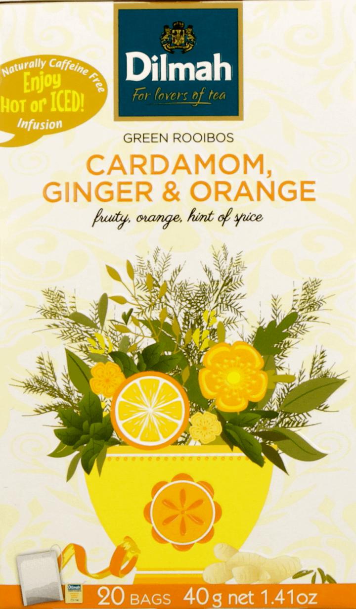 Dilmah Zioła Z Przyprawami Do Zaparzania Kardamon Imbir I Pomarańcza 20x2g Drogeria Rossmann