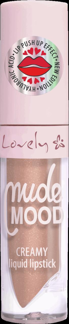 LOVELY, Nude Mood, kremowa pomadka do ust, nr 2, 1 szt