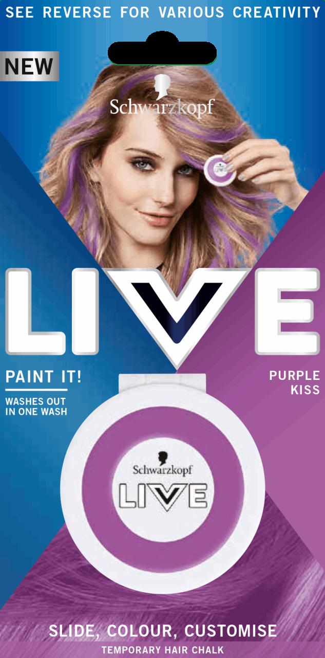 SCHWARZKOPF LIVE, Colour+, farba do włosów L76 Ultra