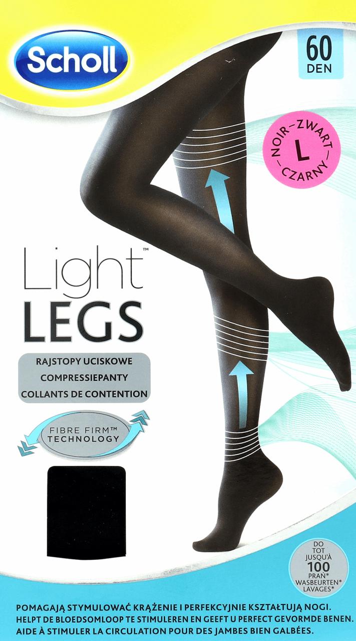 fb786aa446e326 SCHOLL, Light Legs™, rajstopy uciskowe czarne, rozmiar L, 1 szt. - Drogeria  Rossmann