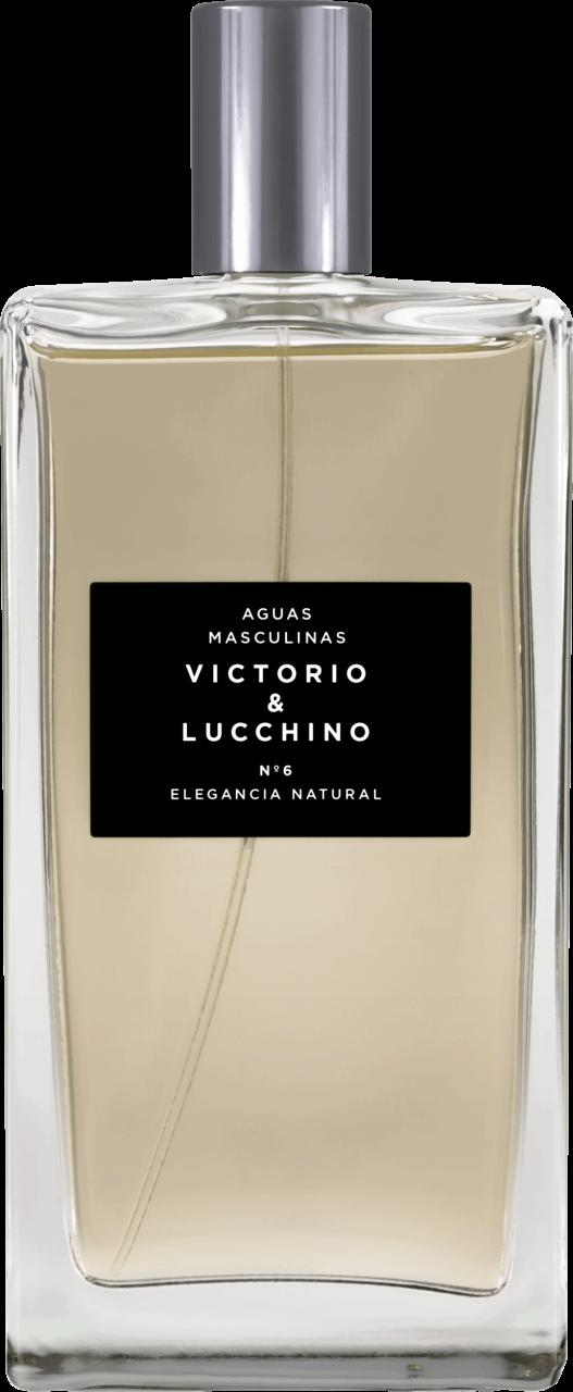 victorio & lucchino aguas masculinas - n°6 elegancia natural