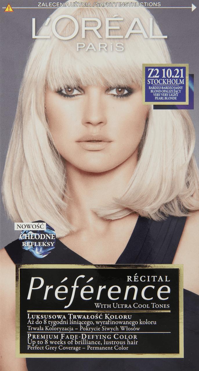 L'Oréal Paris, Récital Préférence, farba do włosów ...