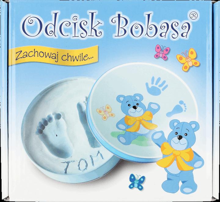 Odcisk Bobasa Zestaw Pamiątkowy Niebieski 1 Szt Drogeria Rossmann Pl