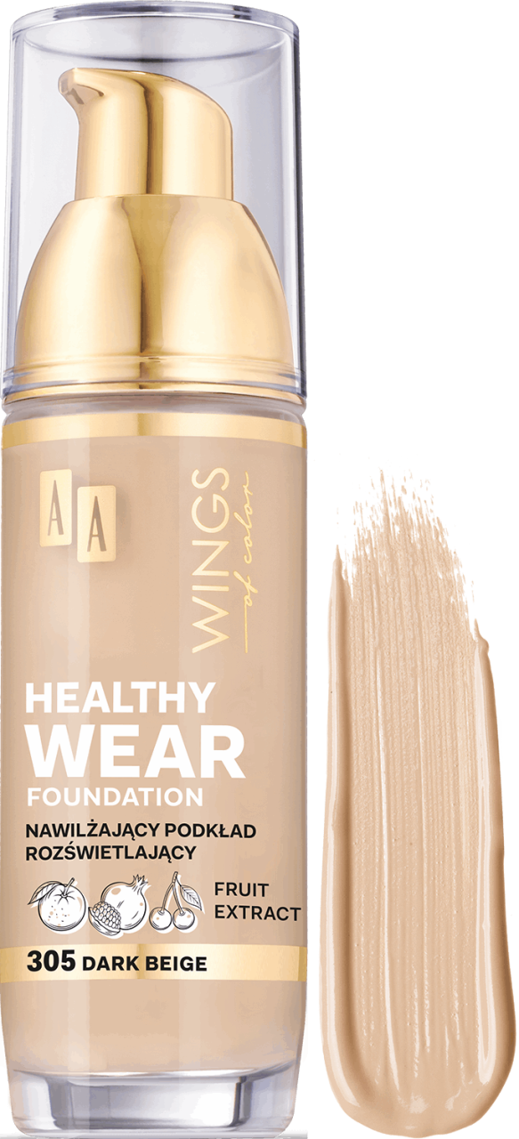 AA Wings Of Color Ideal Match + Vitamin E+C Foundation