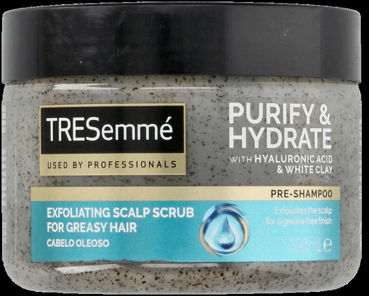 TRESEMMÉ, Purify & Hydrate, peeling do skóry głowy, 300 ml | Drogeria  Rossmann.pl