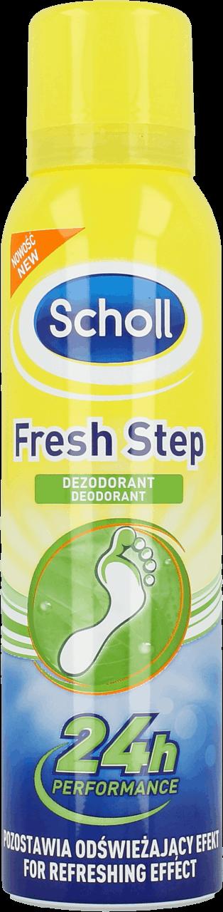 scholl fresh step fotspray