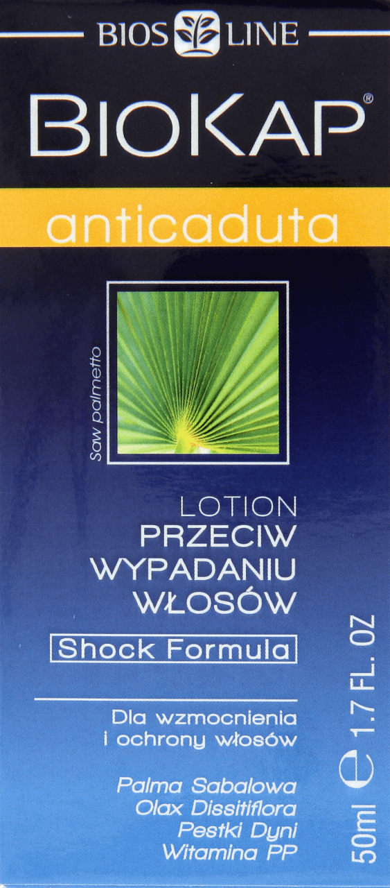 Biokap Anticaduta Lotion Przeciw Wypadaniu Wlosow 50 Ml