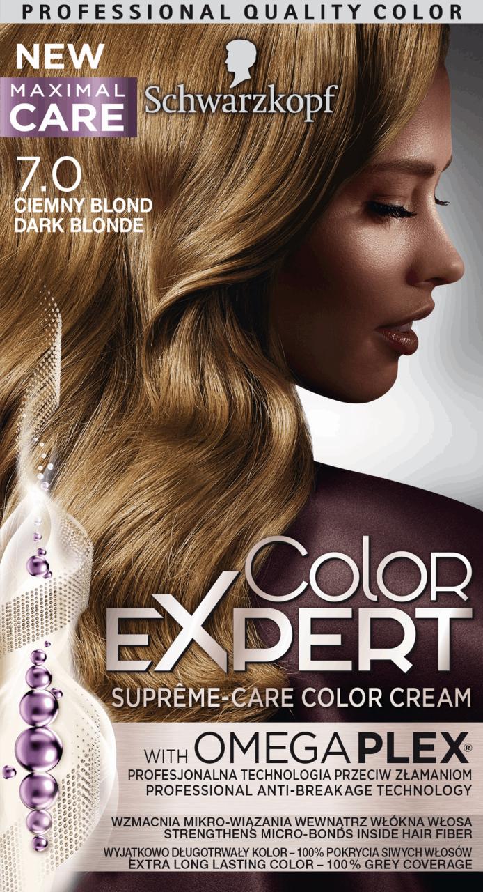 Schwarzkopf Color Expert Farba Do Wlosow Nr 7 0 Ciemny Blond 1