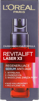 L'Oréal Paris, Revitalift Laser X3, serum regenerujące anti-age, 30ml, nr kat. 173157