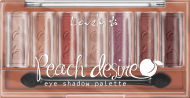 Lovely, Peach Desire, paleta cieni do powiek, 6 g, nr kat. 276355