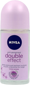 NIVEA,  antyperspirant, roll-on, Double effect, 50ml, nr kat. 64392