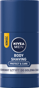 NIVEA MEN, Protect&Care, stick do golenia, ochronny, 75ml, nr kat. 279406