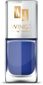 AA, Wings of Color,  lakier do paznokci, Oil Therapy Nail Lacquer, 20 Blueberry Chic, 11 ml, nr kat. 279475