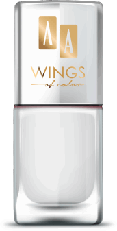 AA, Wings of Color,  lakier do paznokci, Oil Therapy Nail Lacquer, 11 White Jasmin, 11 ml, nr kat. 279463