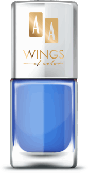 AA, Wings of Color,  lakier do paznokci, Oil Therapy Nail Lacquer, 12 Blue Iris, 11 ml, nr kat. 279465