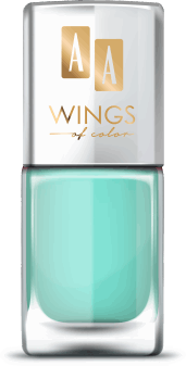 AA, Wings of Color,  lakier do paznokci, Oil Therapy Nail Lacquer, 13 Apple Mint, 11 ml, nr kat. 279467