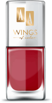 AA, Wings of Color,  lakier do paznokci, Oil Therapy Nail Lacquer, 17 Cherry Lady, 11 ml, nr kat. 279472