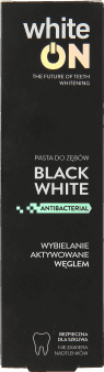 WhiteON,  pasta do zębów, black white, 75  ml, nr kat. 282033