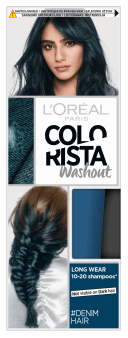 L'Oréal Paris, Colorista Washout, zmywalna farba do włosów, Denim Hair, 1 szt., nr kat. 279791