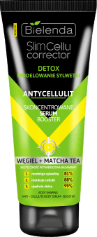 Bielenda, Slim Cellu Corrector, skoncentrowane serum booster, węgiel + matcha tea, 250 ml, nr kat. 280570