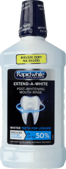 Rapid White, Extend-A-White, płyn do płukania jamy ustnej, 500ml, nr kat. 282139