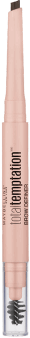 Maybelline, total temptation, tusz do brwi, Deep Brown, 1 szt., nr kat. 280505