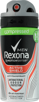 Rexona Men, Motionsense, antyperspirant męski w sprayu, Active Shield, 75 ml, nr kat. 284559
