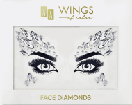 AA, Wings of Color, Face Diamonds, diamenciki samoprzyplemne do twarzy 01, 1 szt., nr kat. 286927