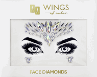 AA, Wings of Color, Face Diamonds, diamenciki samoprzylepne do twarzy 02, 1 szt., nr kat. 286929