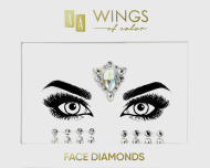 AA, Wings of Color, Face Diamonds, diamenciki samoprzylepne do twarzy 03, 1 szt., nr kat. 286930
