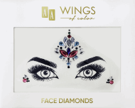 AA, Wings of Color, Face Diamonds, diamenciki samoprzylepne do twarzy 04, 1 szt., nr kat. 286932
