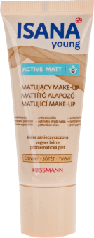 Isana young, Active Matt, fluid matujący, ciemny, 40 ml, nr kat. 45244