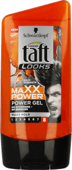 Taft, Looks, żel do włosów, Maxx Power, 150 ml, nr kat. 108083