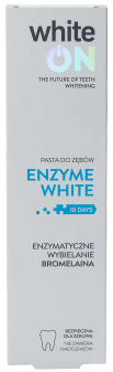 whiteON, Enzyme White, pasta do zębów, 75 ml, nr kat. 282034