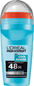 L'Oréal Men Expert, Cool Water, antypersprant w kulce, 48 h, 50 ml, nr kat. 280183