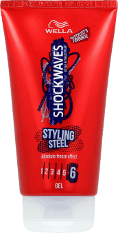 Wella, Shockwaves, żel do włosów,  Styling Steel, 150 ml, nr kat. 287009